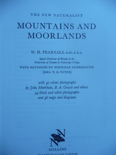 9780002194778: Mountains and Moorlands: New Naturalist