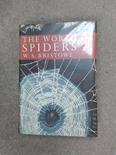 9780002195584: World of Spiders (Collins New Naturalist)
