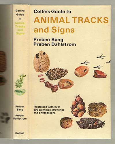9780002196338: Collins Guide to Animal Tracks and Signs