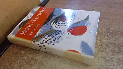 9780002196703: British Thrushes (Collins New Naturalist)