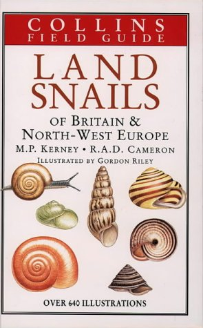 A Field Guide To The Land Snails: Michael Kerney; R.A.D.