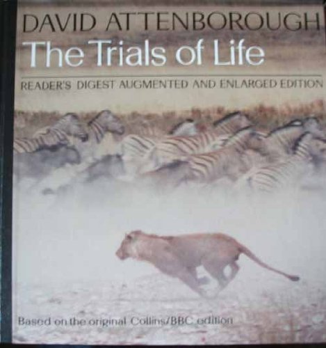 The Trials of Life: A Natural History of Animal Behaviour 1st Edition Signed David Attenborough