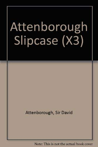9780002199490: ATTENBOROUGH SLIPCASE (X3)