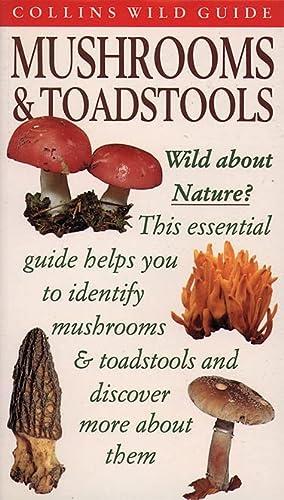9780002200073: Mushrooms & Toadstools (Collins Wild Guide)