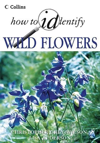 9780002201070: Collins How to Identify Wild Flowers