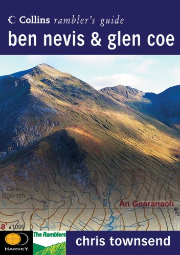 9780002201155: Collins Ramblers' Guide - Ben Nevis & Glen Coe (Collins Ramblers' Guides)
