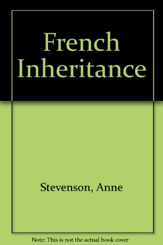 9780002212229: French Inheritance