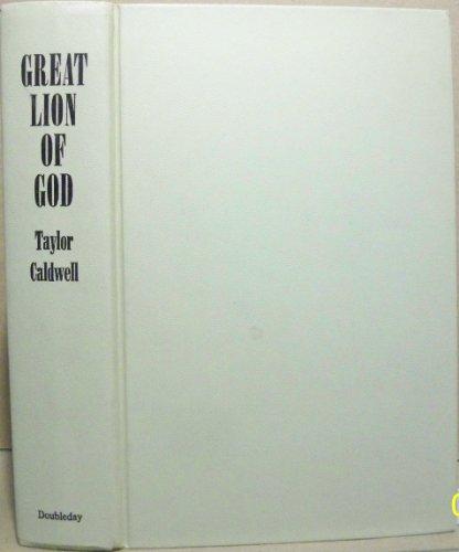 9780002212953: Great Lion of God
