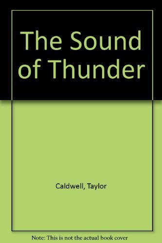 9780002213929: The Sound of Thunder