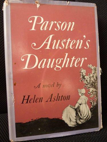 9780002216418: Parson Austen's Daughter