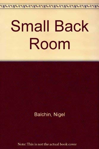 9780002217736: Small Back Room