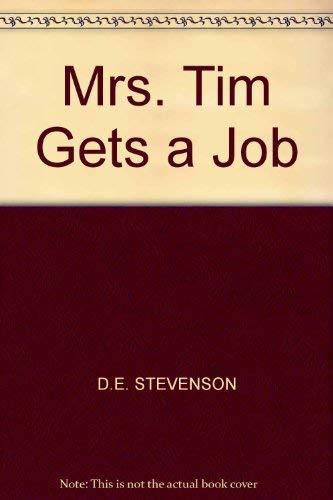 9780002219921: Mrs. Tim Gets a Job