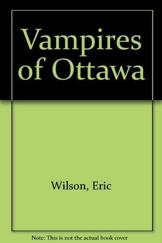 9780002228589: Vampires of Ottawa