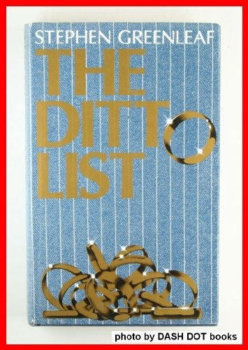 9780002229289: The Ditto List by Stephen Greenleaf