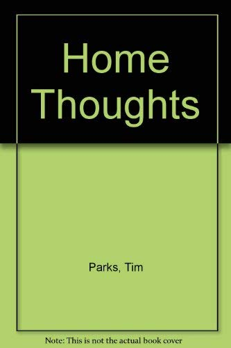 9780002233040: Home Thoughts