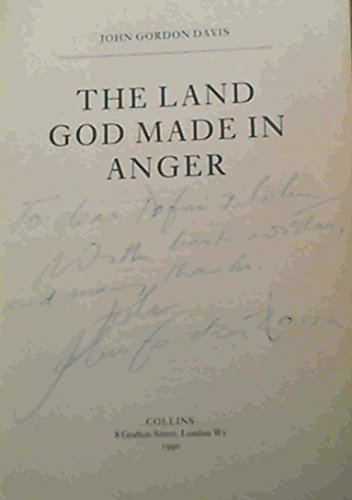 9780002233538: The Land God Made in Anger