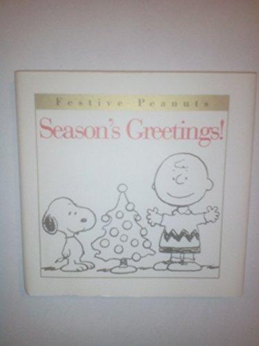 9780002250245: Season's Greetings!: By Schulz (Festive Peanuts)