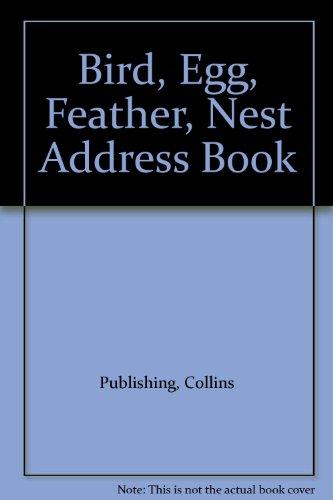 9780002251518: Bird, Egg, Feather, Nest Address Book