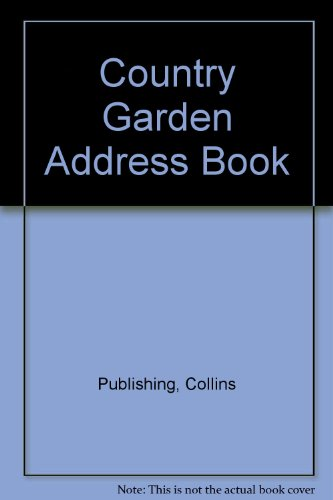 9780002251563: Country Garden Address Book