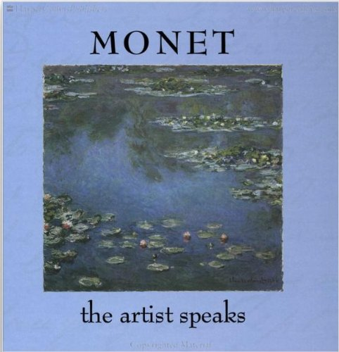 9780002252065: Monet: The Artist Speaks
