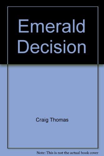 9780002253741: Emerald Decision