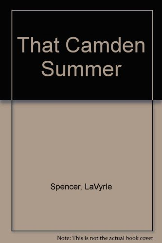9780002253772: That Camden Summer