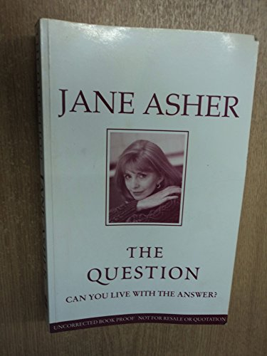 The Question (9780002258050) by Jane Asher