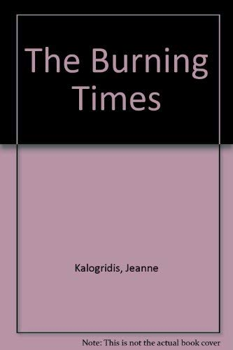 9780002259927: The Burning Times