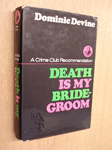 9780002311687: Death is My Bridegroom