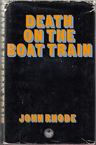 9780002311953: Death on the Boat Train