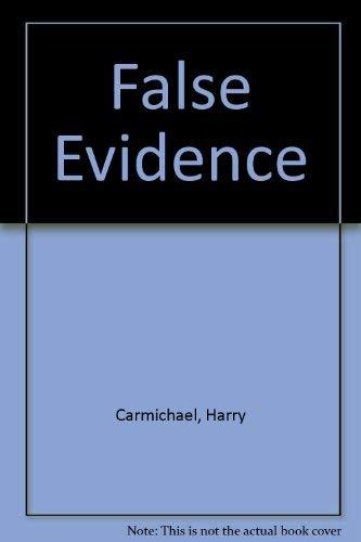 9780002312288: False Evidence