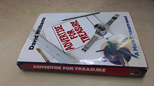 9780002313896: Advertise for Treasure: A Mark Treasure Novel