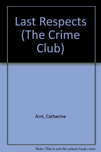 9780002314107: Last Respects (The Crime club)