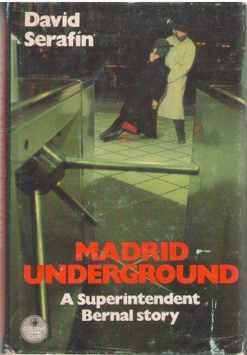 9780002316644: Madrid Underground (The Crime Club)