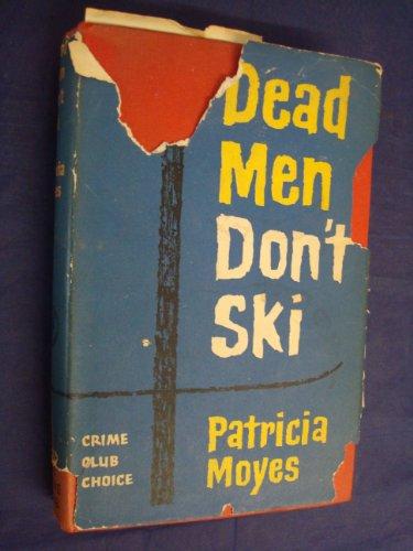 9780002316866: Dead Men Don't Ski