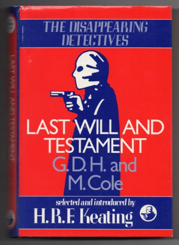 9780002319973: Last Will and Testament (Disappearing Detectives)