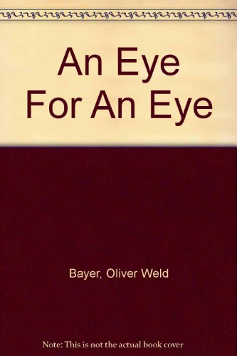 9780002322188: An Eye for an Eye