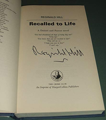 9780002323888: Recalled to Life: A Dalziel and Pascoe Novel [Signed]