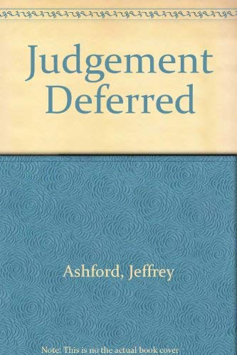 9780002324823: Judgment Deferred