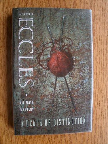 9780002325653: A Death of Distinction (Collins crime)