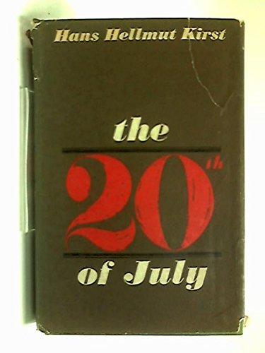 9780002438100: Twentieth of July