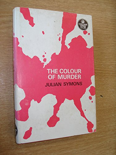 9780002441025: The colour of murder