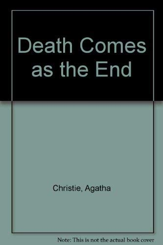 9780002441599: Death Comes as the End