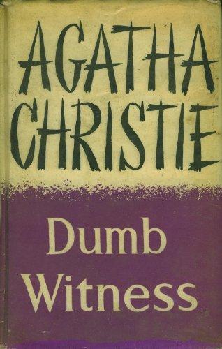 9780002441605: Dumb Witness