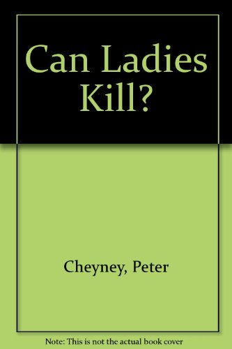 9780002451048: Can Ladies Kill?