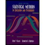 Statistical Methods in Education and Psychology - Textbook Only: Glass, Gene V.