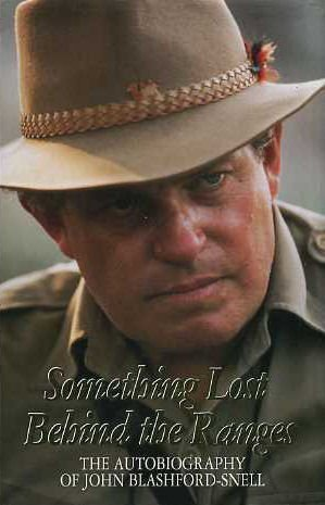 9780002550345: Something Lost Behind The Ranges: Autobiography