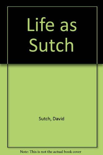 9780002550901: Life as Sutch