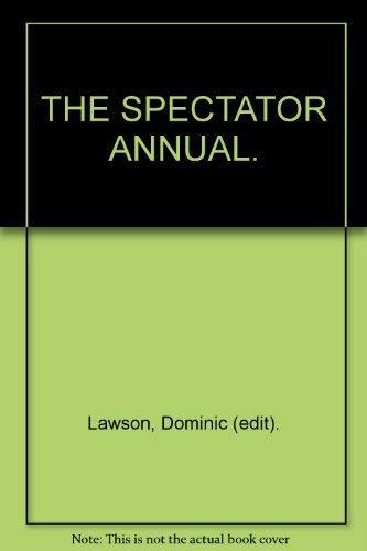 9780002553278: The Spectator Annual