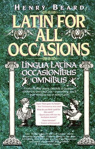 9780002553834: Latin for All Occasions: Lingua Latina Occasionibus Omnibus